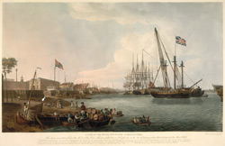 A View of the Royal Dockyard at Deptford